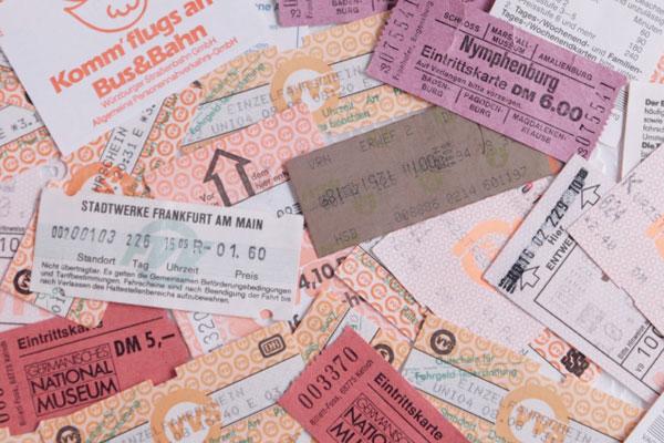 各種チケット
